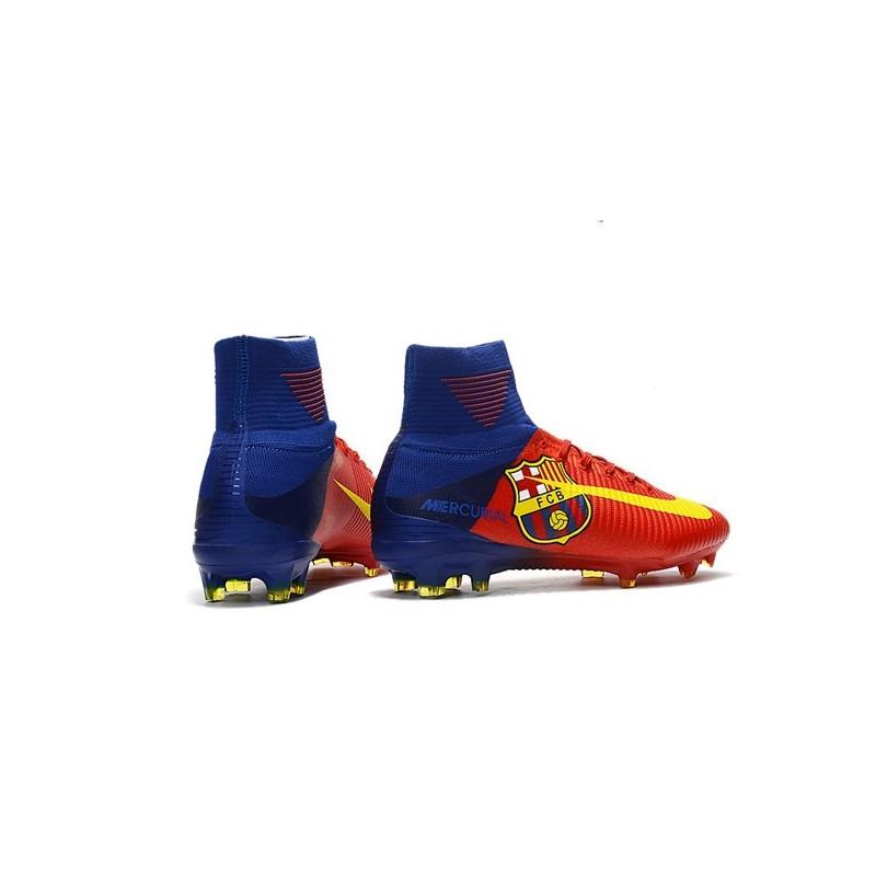 Scarpe Da Rosso Mercurial Nike Barcelona V Calcio Fg Superfly qq1R6rw