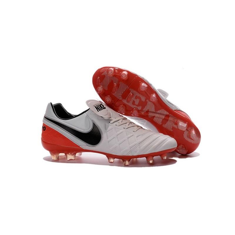 newest ee99a cbbe6 Scarpe Nike Tiempo Legend VI FG Pelle di Canguro - Bianco Rosa Nero