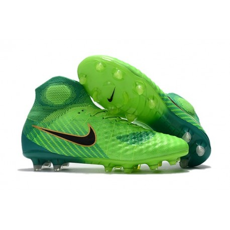Scarpa Calcio Nuovo 2017 Nike Magista Obra II FG - Verde Nero