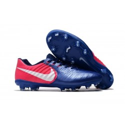 Nike Scarpa Calcio Uomo Tiempo Legend VII FG - Blu Rosa