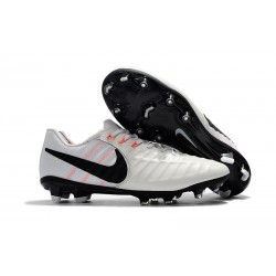 Nike Tiempo Legend 7 FG Scarpa da Calcio Uomo - Blanco Nero