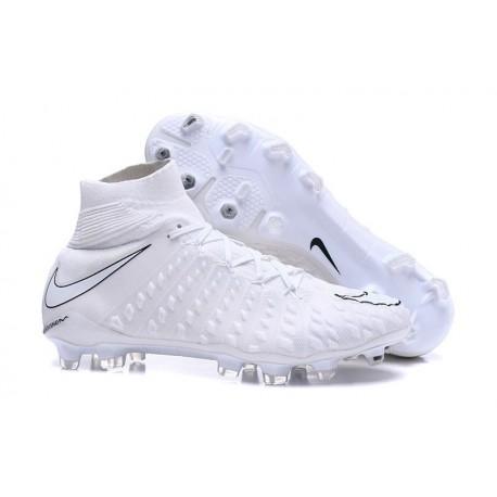 Nike Scarpa Calcio Hypervenom Phantom 3 DF FG Bianco