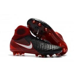 Scarpa Calcio Nuovo 2017 Nike Magista Obra II FG - Nero Rosso