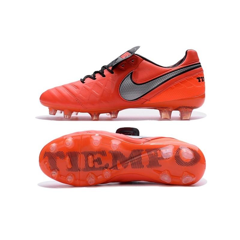on sale d6f74 938f2 Scarpe Nike Tiempo Legend VI FG Pelle di Canguro - Arancio B