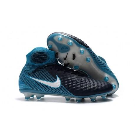 Nike Magista Obra 2 FG Scarpe da Calcio Nero Blu