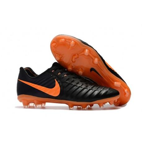Nike Tiempo Legend 7 FG Scarpa da Calcio Uomo - Nero Arancio