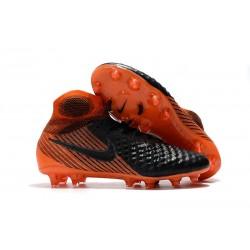 Nike Magista Obra 2 FG Scarpe da Calcio Nero Arancio