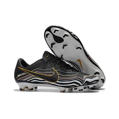 Scarpe Nuovo Nike Mercurial Vapor 11 FG ACC - Nero Oro