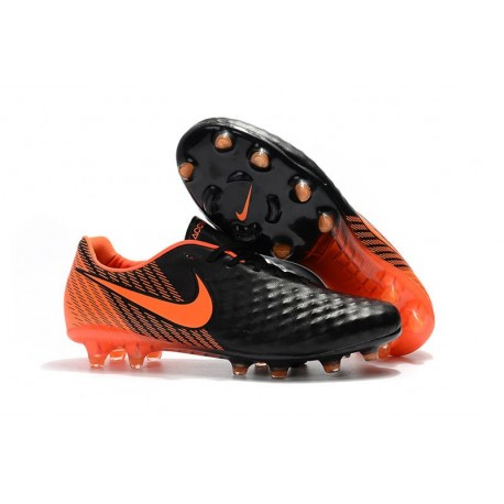 Nike Magista Opus II FG Scarpe da Calcio - Nero Arancio