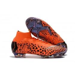 Scarpa Cristiano Ronaldo Nike Mercurial Superfly VI 360 Elite FG Safari Arancio