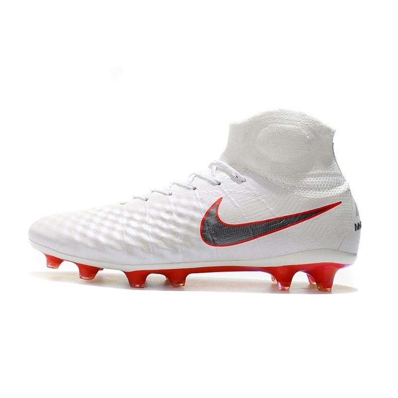 best website 897ea dbdd8 ... discount nike magista obra 2 fg scarpe da calcio bianco grigio rosso  vedi a schermo intero