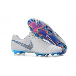 Scarpe Nike Tiempo Legend 7 FG ACC - Bianco Blu