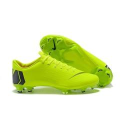 Nike Mercurial Vapor 12 FG Scarpa da Calcio Nuovo 2018 - Verde Nero