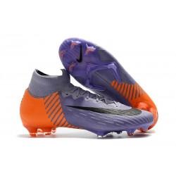 Scarpa da Calcio Nike Mercurial Superfly VI 360 Elite FG Violet Arancio