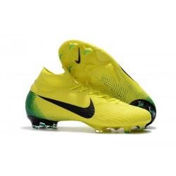 Scarpa da Calcio Nike Mercurial Superfly VI 360 Elite FG Giallo Nero