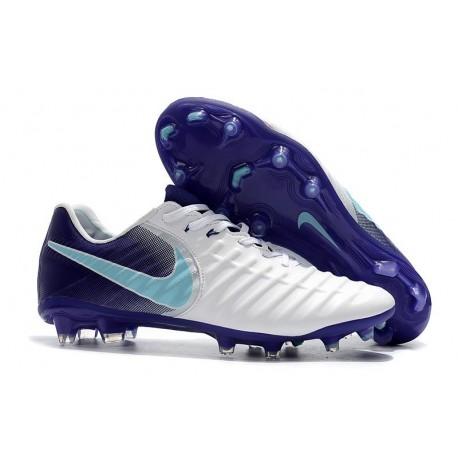 Scarpe Nike Tiempo Legend 7 FG ACC - Bianco Viola