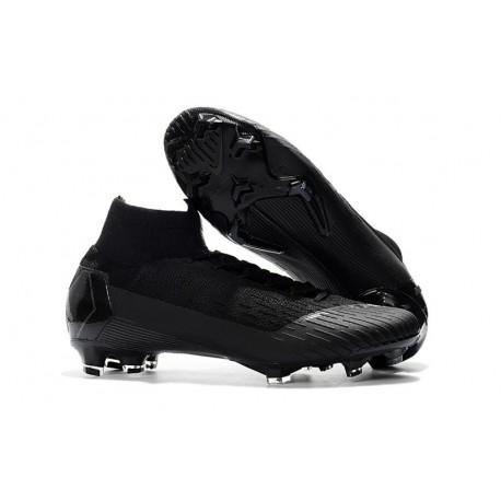 Scarpa da Calcio Nike Mercurial Superfly VI 360 Elite FG Nero