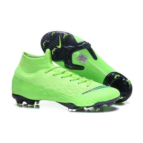 Scarpa da Calcio Nike Mercurial Superfly VI 360 Elite FG Verde