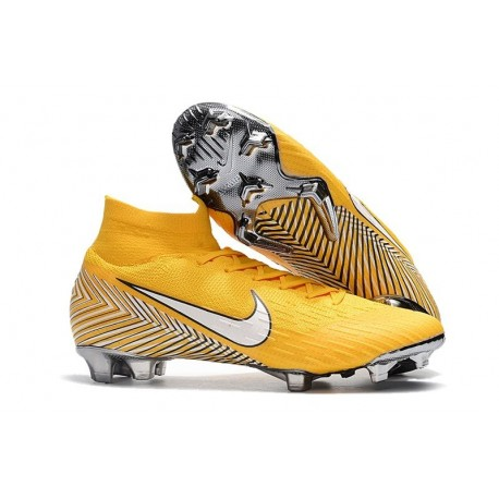 Nike Mercurial Superfly 6 Elite DF FG Nuovo Neymar Scarpe - Giallo