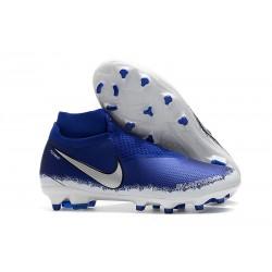 Scarpa per Terreni duri Nike Phantom Vision Elite FG - Blu Argento