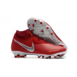 Scarpa per Terreni duri Nike Phantom Vision Elite FG - Rosso Argento