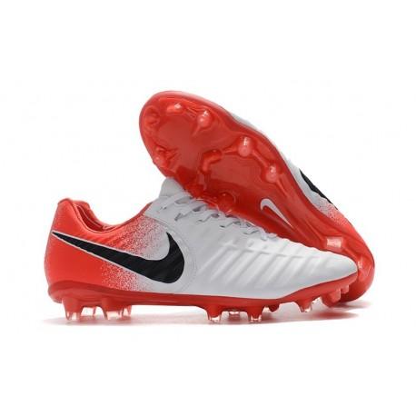 Scarpe Nike Tiempo Legend 7 FG ACC - Bianca Rosso
