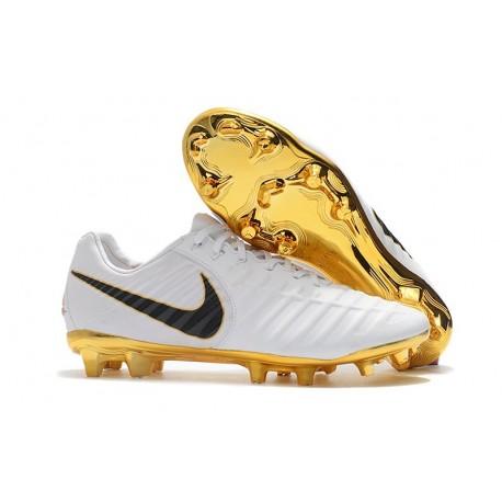 Scarpe Nike Tiempo Legend 7 FG ACC - Bianca Oro