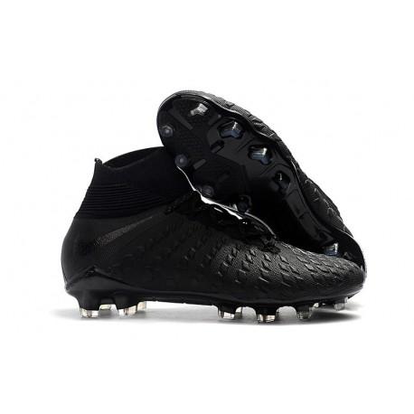 Nike Scarpa Calcio Hypervenom Phantom 3 DF FG Nero Argento