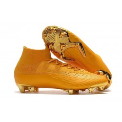 Nike Mercurial Superfly VI 360 Elite FG Scarpe - Oro