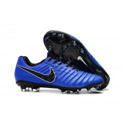 Scarpa Nike Tiempo Legend VII Elite FG ACC - Blu Nero