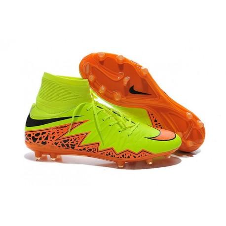 Nike Scarpa Calcio Uomo HyperVenom Phantom II FG Giallo Arancio