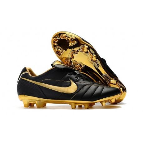 Scarpa Nike Tiempo Legend VII Elite FG ACC - Nero Oro