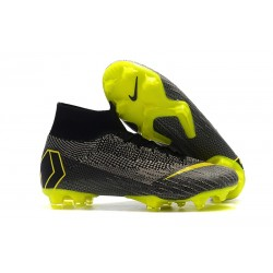 Nike Mercurial Superfly VI 360 Elite FG Scarpe - Nero Giallo