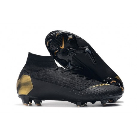 Nike Scarpa Mercurial Superfly 6 Elite FG - Nero Oro