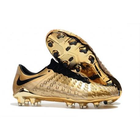 Scarpe da Calcio Nike Hypervenom Phantom 3 FG ACC - Oro Nero