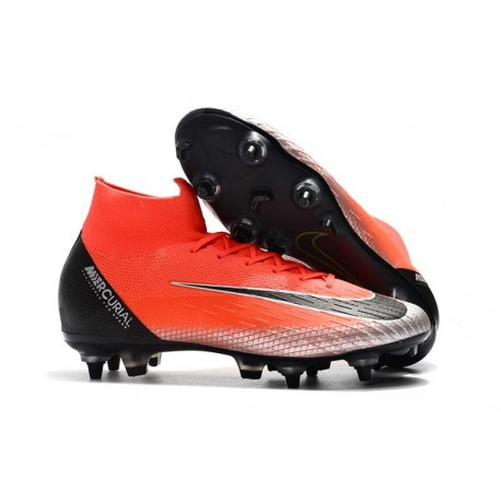 Scarpa Nike Mercurial Superfly 6 Elite AC SG Pro - Rosso Nero