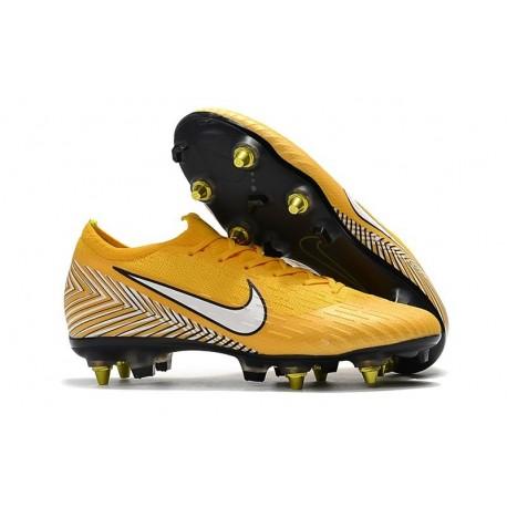Neymar Scarpe Nike Mercurial Vapor 12 SG-Pro AC Giallo