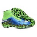 Scarpe da Calcio Neymar Nike HyperVenom Phantom 2 FG Blu Verde Bianco