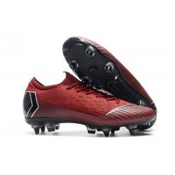 Scarpe Nike Mercurial Vapor 12 SG-Pro AC Rosso Nero
