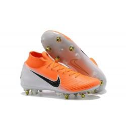 Scarpa Nike Mercurial Superfly 6 Elite AC SG Pro - Arancione Bianco