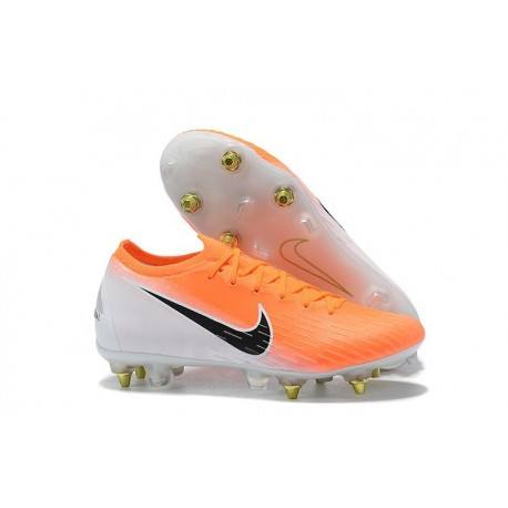 Scarpe Nike Mercurial Vapor 12 SG-Pro AC Arancione Bianco