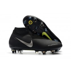 Nike Phantom Vision Elite Dynamic Fit AC SG-Pro Nero Argento