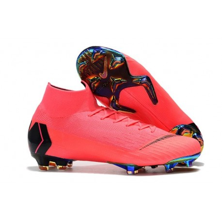 Nike Scarpa Mercurial Superfly 6 Elite FG - Rosa Nero