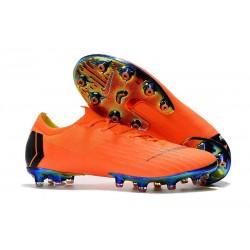 Scarpe Calcio Nike Mercurial Vapor 12 Elite Arancio Nero