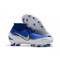 Nike Phantom VSN Elite Dynamic Fit FG - Blu Bianco