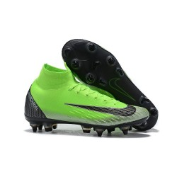 Scarpa Nike Mercurial Superfly 6 Elite AC SG Pro - Verde Nero