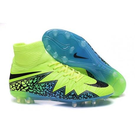 Scarpe da Calcio Neymar Nike HyperVenom Phantom 2 FG Verde Blu Nero