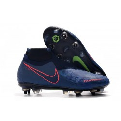 Nike Phantom Vision Elite Dynamic Fit AC SG-Pro Blu Rosso