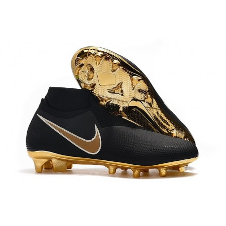 Scarpa Nike Phantom Vision Elite DF FG Nero Oro
