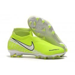 Scarpa Nike Phantom Vision Elite DF FG Volt Bianco